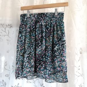Adorable Floral Skirt